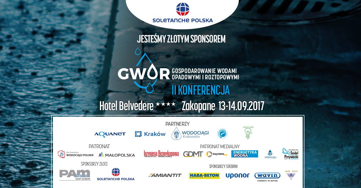 Soletanche zaprasza na Konferencję GWOR