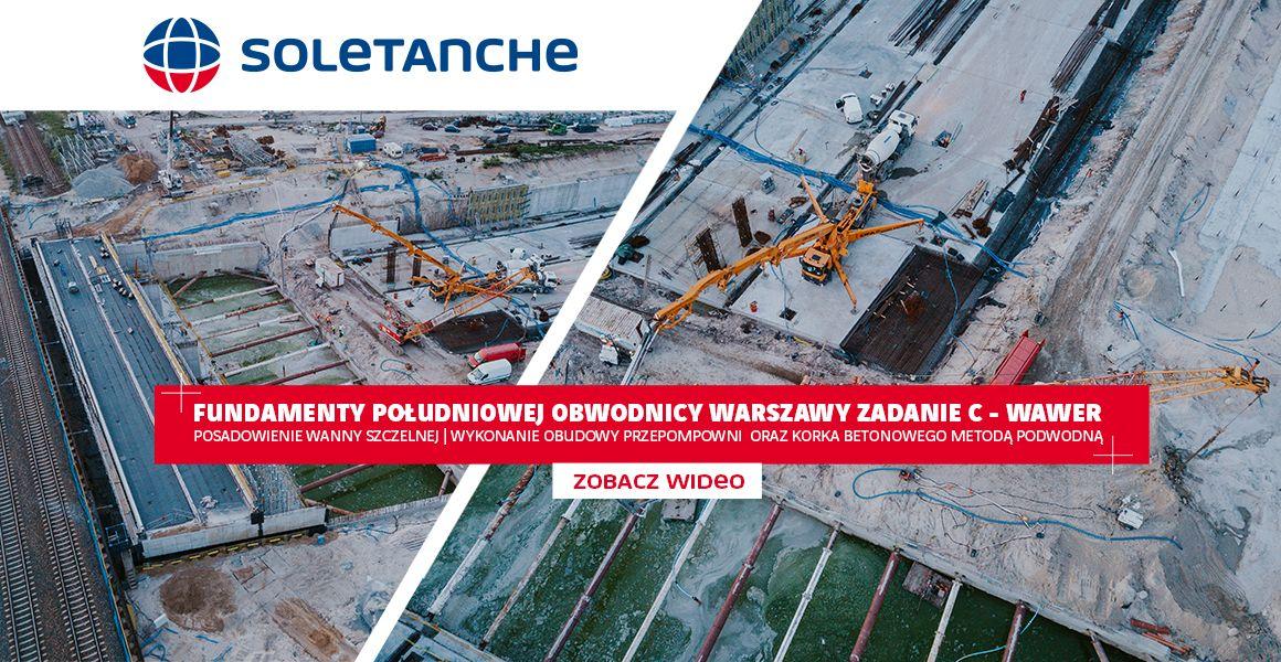 Fundamenty Południowej Obwodnicy Warszawy
